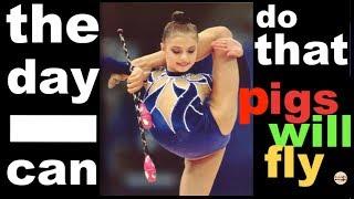 Back flexibility and Rhythmic gymnastics