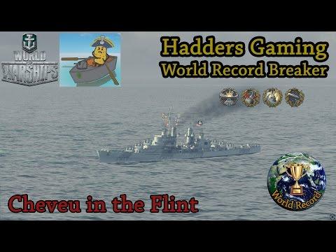 World of Warships - World Record Breaking - Flint Replay