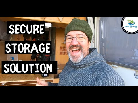 Secure Storage Solution For Our  VANLIFE Adventure Around The WORLD