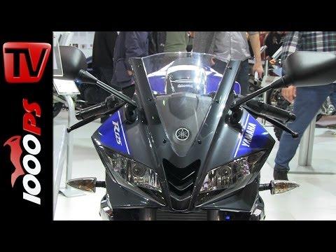 Yamaha YZF-R125 mit Akrapovic- 2014