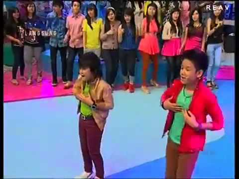 Bagas & Difa - Cuma Kamu at Dahsyat [Live Perform]
