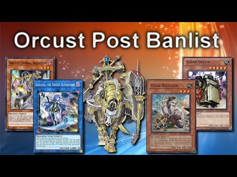 Yu-Gi-Oh! Online - ORCUST POST BANLIST 2020