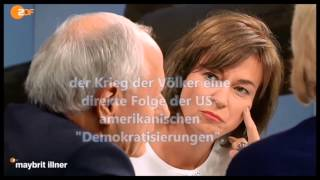 heisse Gesprächsrunde wg. Syrienkonflikt - hochspannend ! Und das im ZDF, wowh!