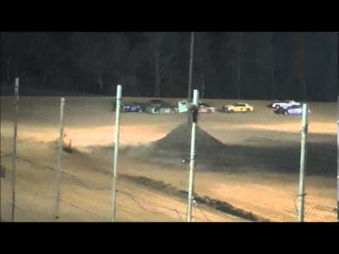 March 21, 2014 pure stock feature at Northwest Florida speedway