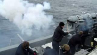 USS Ronald Reagan 21 gun solute thumbnail
