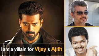 I want to act as villain for & Ajith | Vikranth spl interview latest