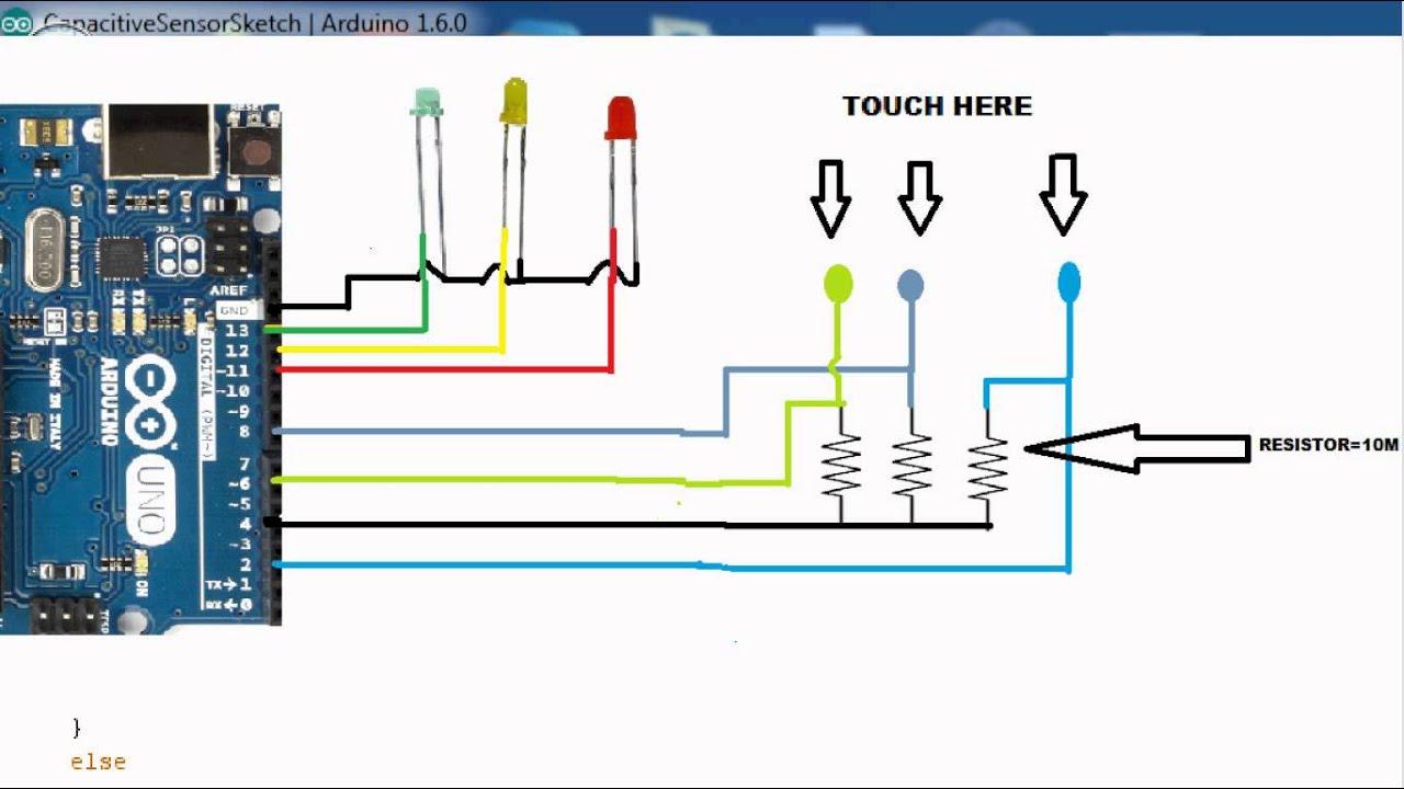 capacitive sensor diagram capacitance sensor diagram