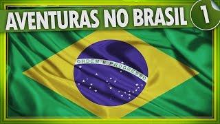 AVENTURAS NO BRASIL #1 - AEROPORTO, CHEGADA, FESTA DE MADRUGADA, FAMÍLIA, PRIMOS, ALERGIA e mais