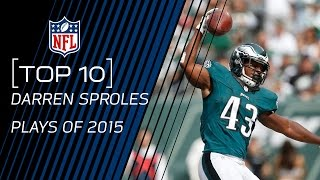 Top 10 Darren Sproles Plays of 2015 | #TopTenTuesdays | NFL
