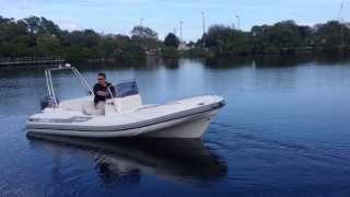 ZAR 53 with Yamaha F115 at Inflatable Boat Pro
