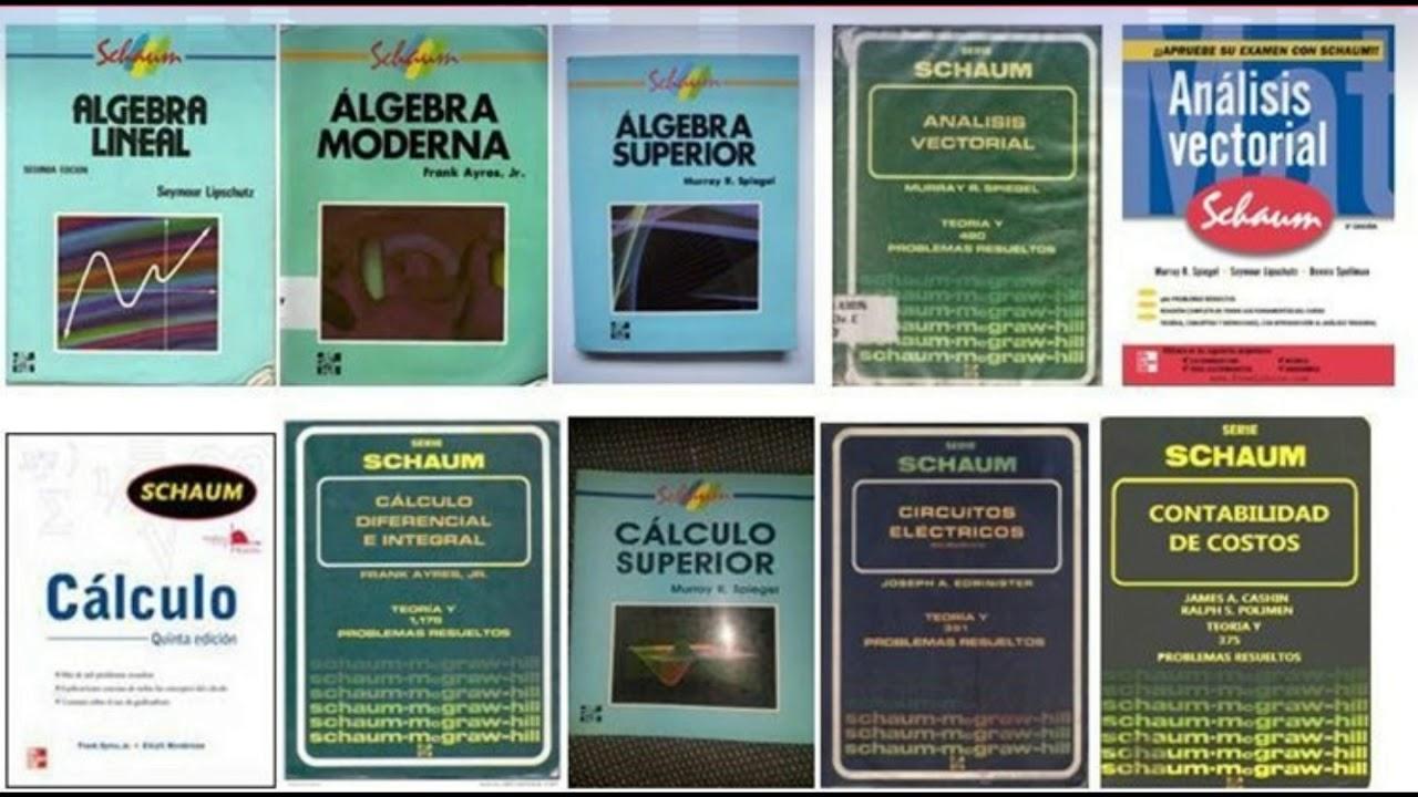 Descargar Serie Schaum 13 Libros Por Dropbox - YouTube @tataya.com.mx 2020