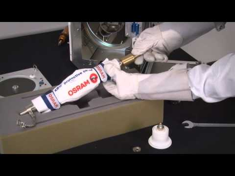 Changing the lamp on your Barco digital cinema projector (DP1200, DP1500 & DP2000)