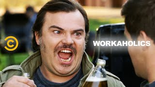 Adam's Dad Ruins a Funeral In Style (feat. Jack Black) - Workaholics