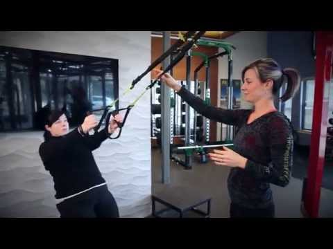 TRX Squat Row - Katie