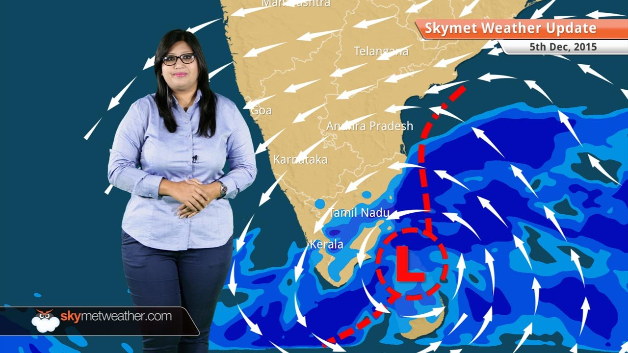 Weather Forecast For December 5 Chennai Tamil Nadu Rains To Increase Youtube
