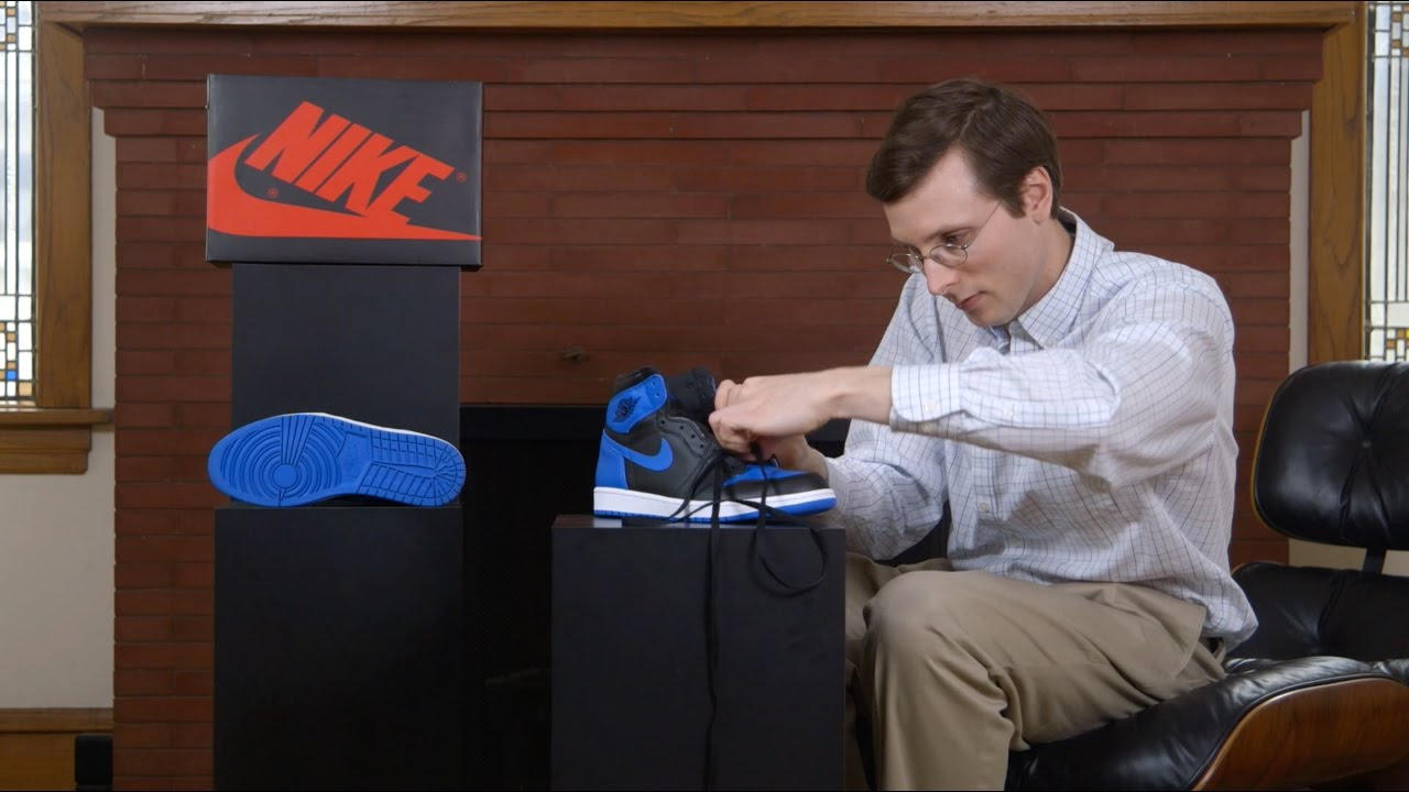 How To Lace the Air Jordan 1 - YouTube 1d98bcd1c