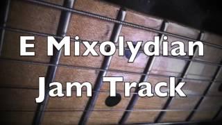 e mixolydian mode majestic mood groove backing track
