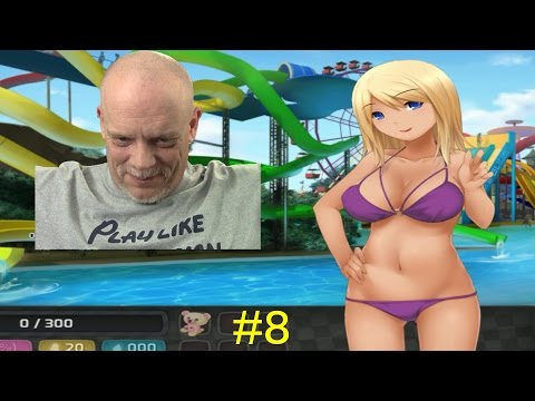 OLD GUY PLAYS HUNIEPOP #8 | Jessie's Voice Does Things To Me!