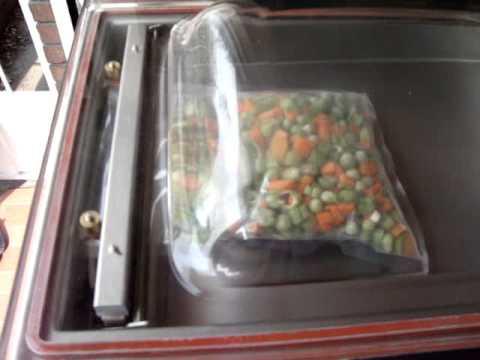 ez 260 empacadoras al vacio de mesa empaque de verduras al vac o rh youtube com