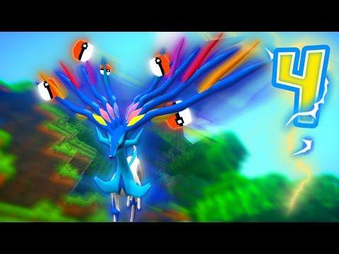 "Minecraft Pixelmon Lucky Block Island - ""XERNEAS'S EXOTIC ZOO!"" - (Minecraft Pokemon Mod)"
