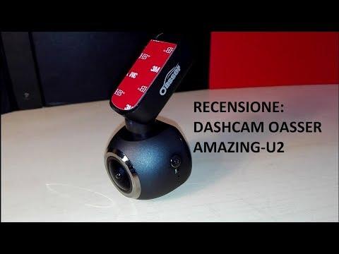 RECENSIONE: Dash Cam per Auto Oasser Amazing-U2 1080P Full HD Angolo di Ripresa 170° Sony IMX323