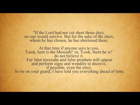 Biblical End Time Prophecy- Signs of the End Time