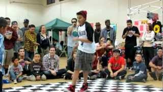 Little Michael vs Xcelerate @ The GR818ERS Flava Of The Month (Feb 2013)