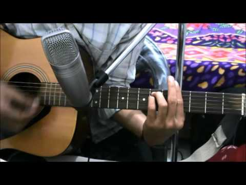 Mere Mehboob Qayamat Hoghi - SIMPLE COMPLATE GUITAR COVER LESSON CHORDS EASY VERSION