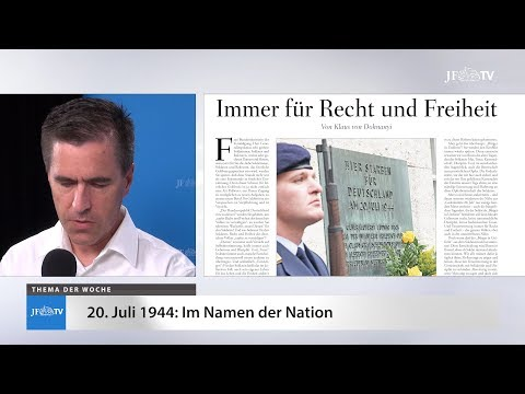 Ein Blick in die neue JF (30/18): Im Namen der Nation