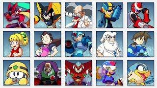 Super Smash Bros. Ultimate - All Mega Man Spirit Battles