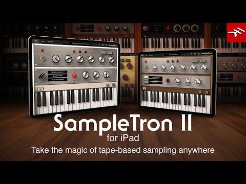 SampleTron 2 for iPad - Take the magic of tape-based sampling anywhere