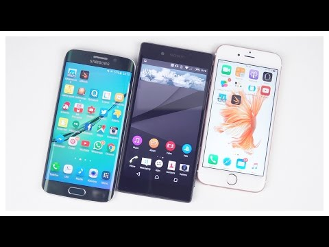 Sony Xperia Z5 vs Apple iPhone 6S vs Samsung Galaxy S6 edge Benchmarks (deutsch)