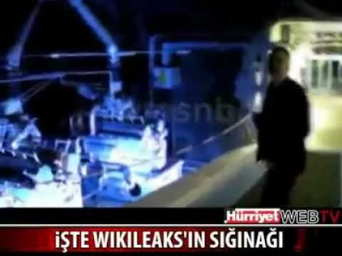 Interiors of Wikileaks (former) server bunkers in Sweden Serverı Nerde