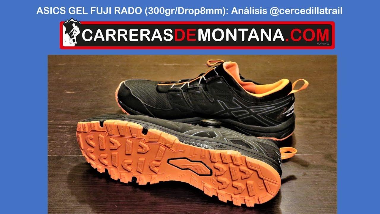 ASICS GEL FUJI Zapatillas de correr