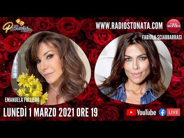 01.03.2021 - Emanuela Folliero e Fabiola Sciabbarrasi ospiti in diretta a Radio Stonata