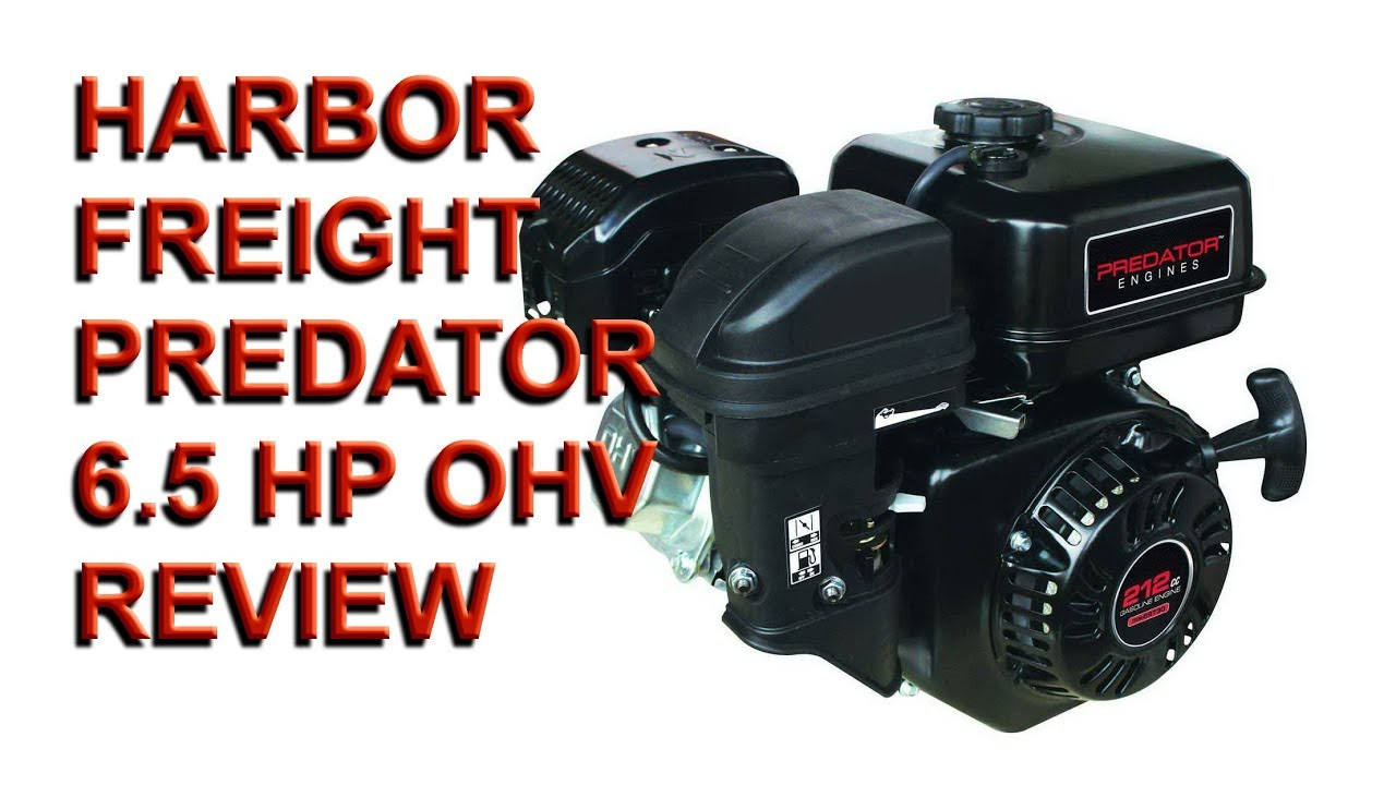 HARBOR FREIGHT 6.5 OHV Horizontal Shaft Gas Engine review ...