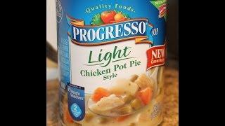 Progresso: Chicken Pot Pie Style Food Review
