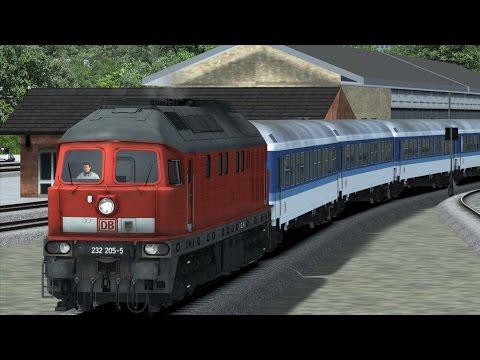 Von Husum nach Langenhorn mit der BR232 Ludmilla TS2016 / Sylt Railway Germany