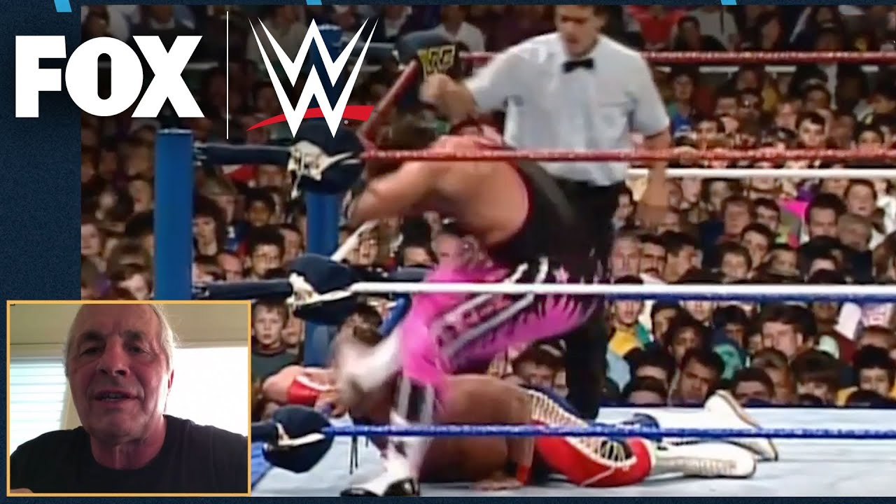 Bret Hart on why he intentionally kicked Bulldog in their match at SummerSlam '92   WWE ON FOX
