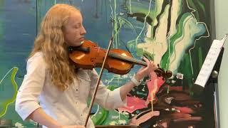 Brahms Waltz in double stops