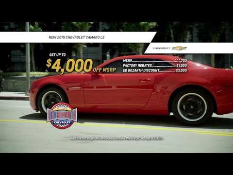 Ed Bozarth #1 Nevada Chevrolet - Camaro