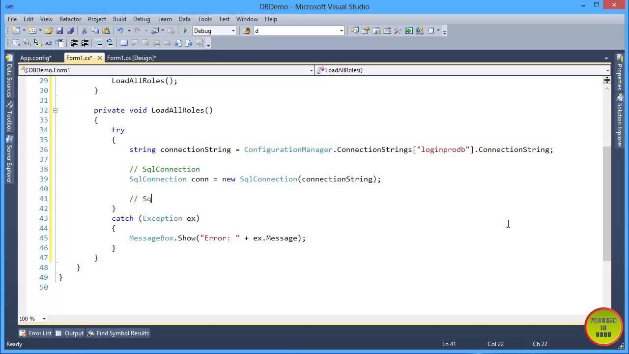 C# mysql executereader stack overflow.