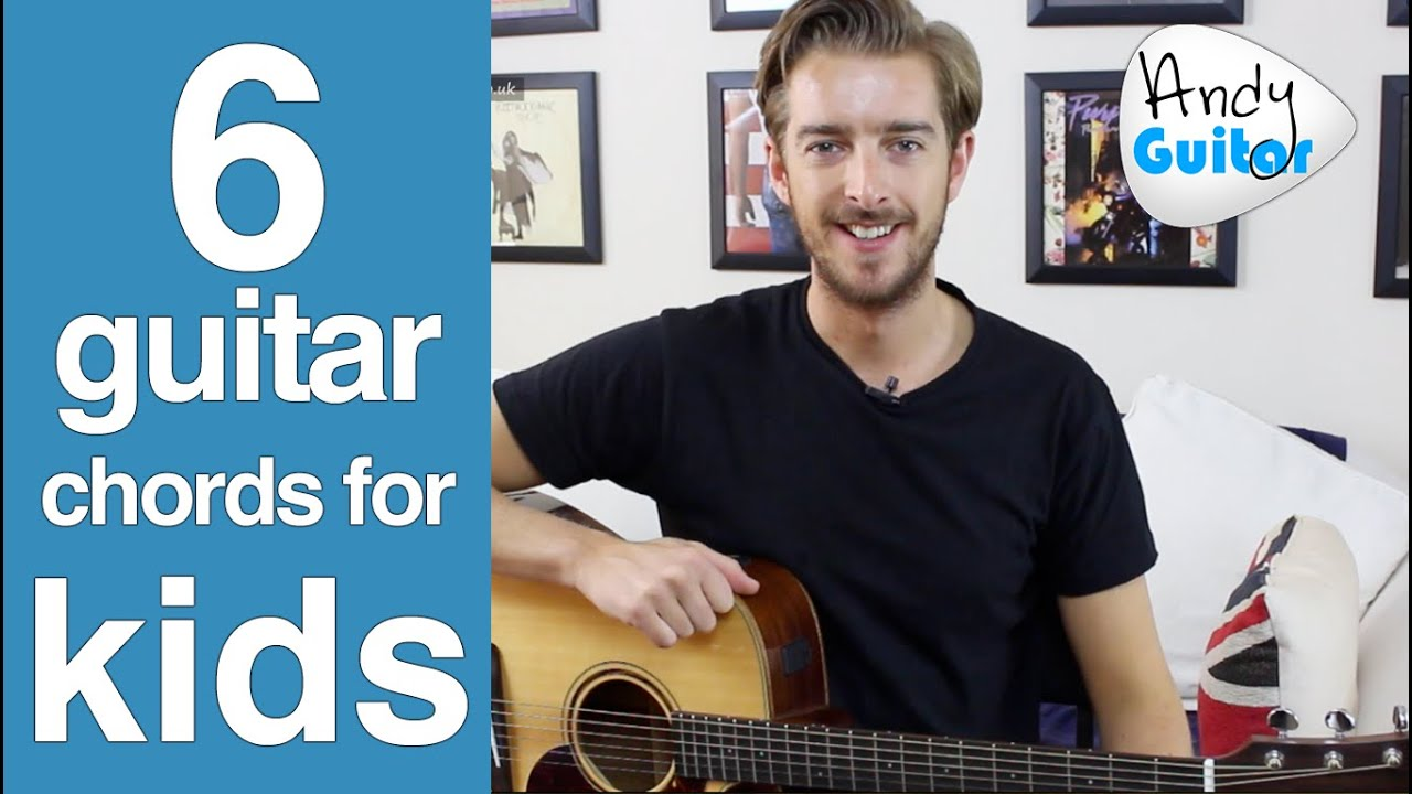 6 Easier Guitar Chords For Kids Or Total Beginners Youtube