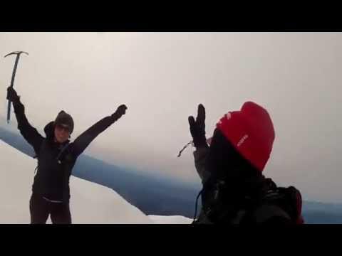 Climbing Mt. Adams. Late May 2015