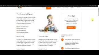 Fable - Children Kindergarten WordPress Theme: Assigning Widget Area Globally