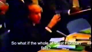 Zulfiqar Ali Bhutto Historical Speech 15 Dec 1971 at Security Council