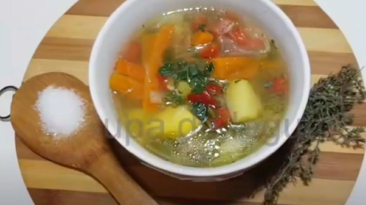 supa de slabit cu legume
