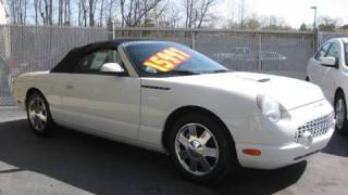 2002 Ford Thunderbird Start Up, Exhaust, and In Depth Tour