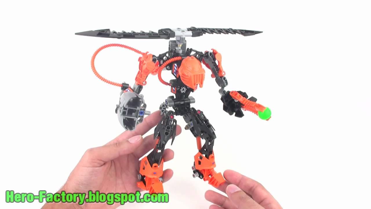 Lego Hero Factory Rotor Review Addendum Youtube