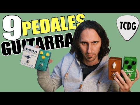 Los Pedales De Guitarra Clásicos Que Todo Guitarrista Debería Tener: Review 9 Pedales!